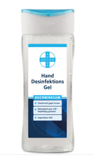 Aviva Hand Desinfektionsgel 150 ml