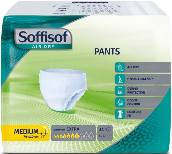 Soffisof Pants EXTRA Medium 6x14 St.