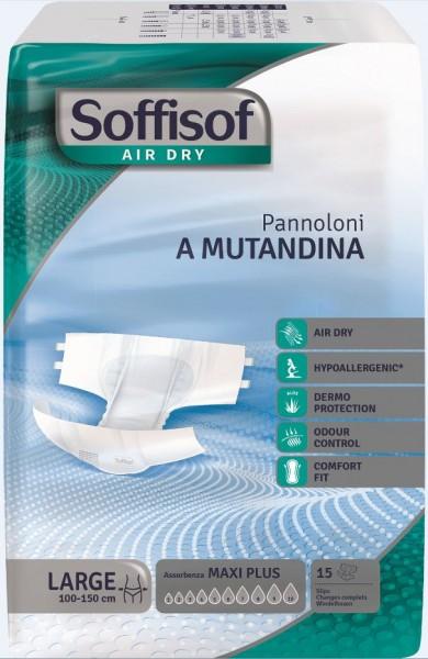 Soffisof Air Dry Slip MAXI PLUS Large 4x15 St.