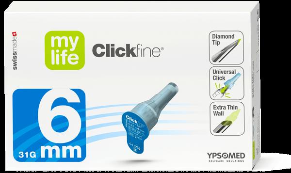 mylife™ Clickfine® DiamondTip 6 mm 100 St.
