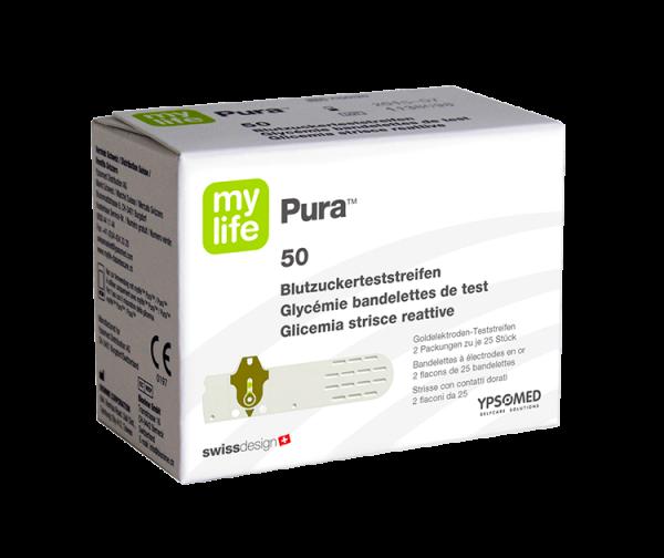 mylife™ Pura® Blutzuckerteststreifen 50 St.