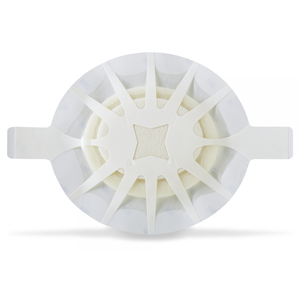 TEGADERM Foam Adhesive FK 10x11 cm oval 10 St.