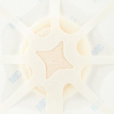TEGADERM Foam Adhesive FK 6,9x7,6 cm oval 10 St.