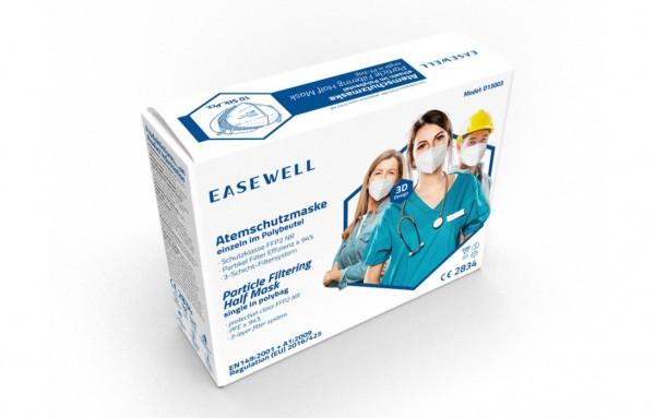 FFP2-Maske ohne Ventil, Easewell, 10 St.
