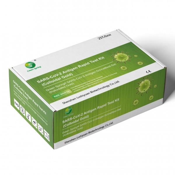 Green Spring SARS-Cov-2-Antigenschnelltest (Profi), 25 St.