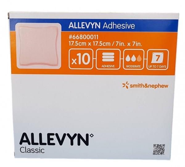 ALLEVYN Adhesive 17,5X17,5 cm haftende Wundauflage 10 St.