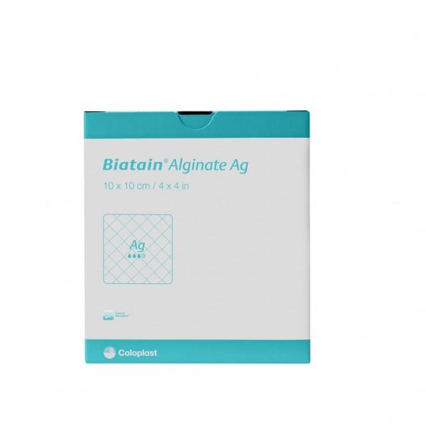 BIATAIN Alginate Ag Tamponade 3x44 cm mit Silber 10 St.