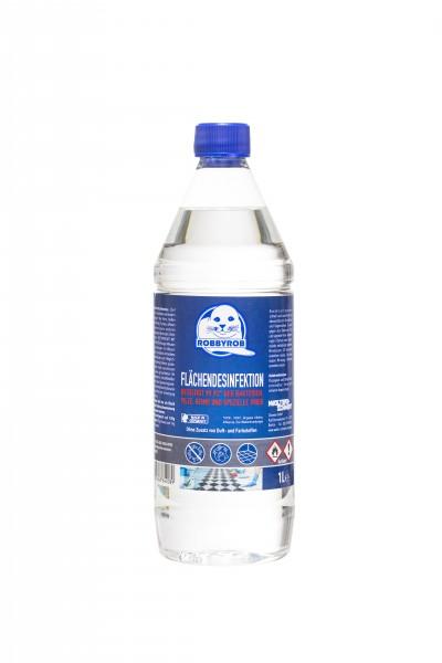 Flächendesinfektionsmittel 1 L Flasche mit Schraubverschluss